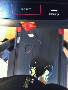 Treadmill safety clip