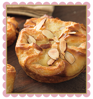 Almond Croissant Blossom