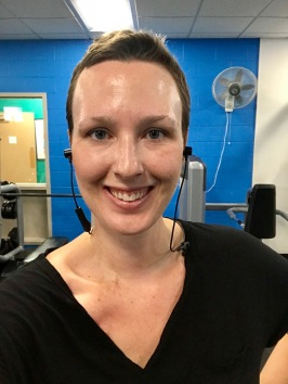 Day 1 (31-Jul 18) - Gym Selfie